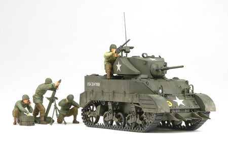 Tamiya Military 1/35 US M5A1 Light Tank Kit