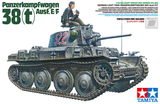 Tamiya Military 1/35 German PzKpfw 38(t) Aust E/F Light Tank Kit