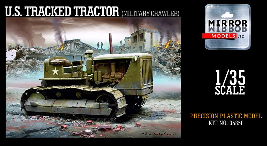 Mirror Models Military 1/35 US Army Military Crawler/Tracked Tractor Kit