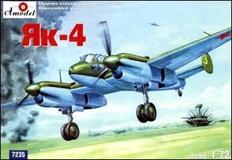 A Model From Russia 1/72 Yak4 Soviet Light Bomber Kit