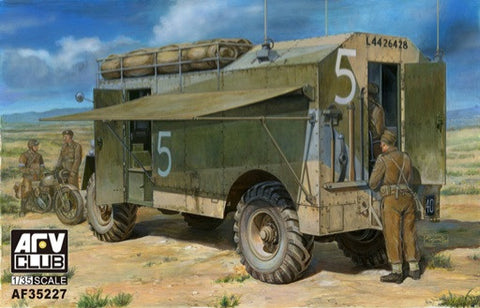 AFV Club Military 1/35 AEC Dorchester Armored Command Vehicle Kit