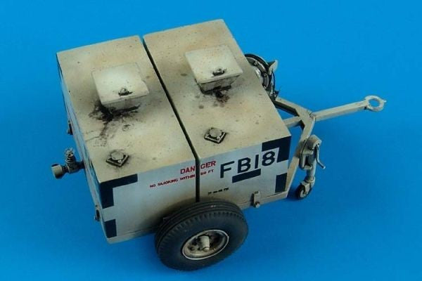 Aerobonus Details 1/32 USAF 150 Gallon Fuel Bowser w/Photo-Etch Kit