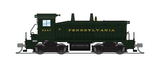Broadway Limited N EMD NW2, PRR 9247, Brunswick Green, Paragon3 Sound/DC/DCC