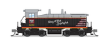 "Broadway Limited N EMD SW7, CB&Q #9250, ""Way of the Zephyrs"", Paragon3 Sound/DC/DCC"