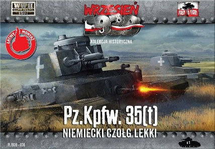 First To Fight 1/72 PzKpfw 35(t) German Light Tank Kiti