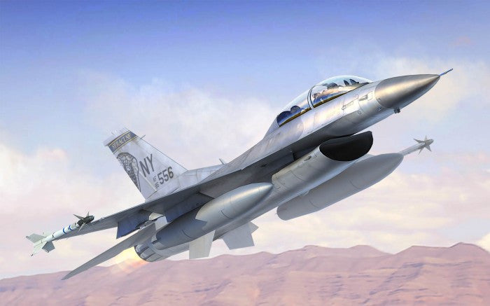 Trumpeter Aircraft 1/144 F16B/D Fighting Falcon Block 15/30 Aircraft Kit