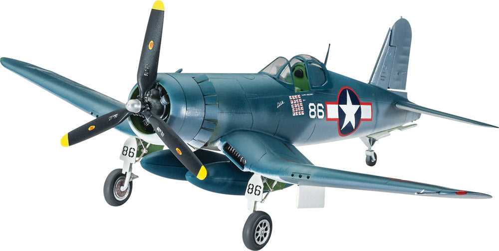 Revell Germany Aircraft 1/72 F4U1D Corsair Fighter Kit