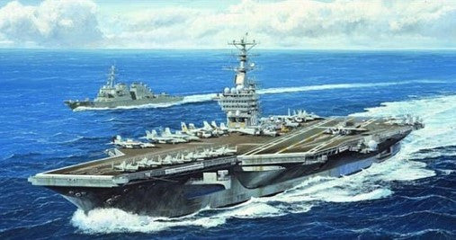 Trumpeter Ship Models 1/700 USS Nimitz CVN68 Aircraft Carrier 2005 Kit