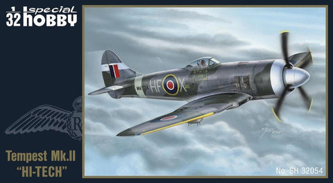 "Special Hobby Aircraft 1/32 ""HI-TECH"" Hawker Tempest Mk II Fighter Kit"