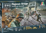 Italeri Military 1/72 Pegasus Bridge Assault Battle Diorama Set (New Tool)