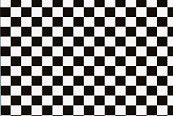 Gofer Decals 1/24-1/25 Checkers (Black/White)
