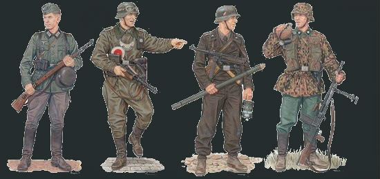 Dragon Military Models 1/35 March to the West Soldiers Western Front 1940 (4) Kit