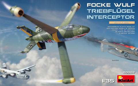 MiniArt Aircraft 1/35 Focke Wulf Triebflugel Interceptor (New Tool) Kit