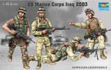 Trumpeter Military Models 1/35 US Marine Corps Iraq 2003 Figure Set (4) Kit