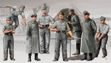 Trumpeter Military Models 1/35 German Morser Karl Artillery Crew Figure Set (8) Kit