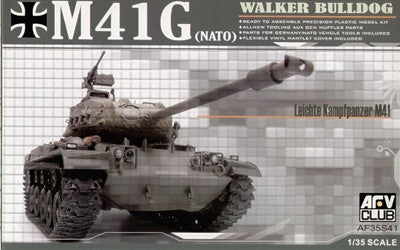AFV Club Military 1/35 Walker Bulldog M41(G) NATO Tank Kit