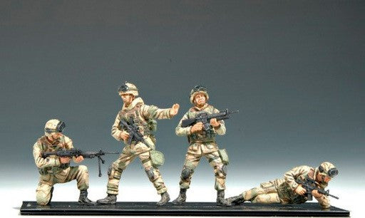 Trumpeter Military Models 1/35 US 101st Airborne Division Crew Figure Set (4) Kit