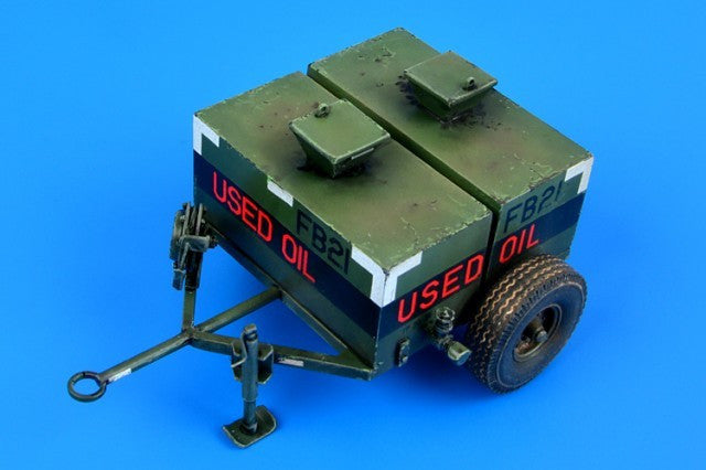 Aerobonus Details 1/32 USAF 150 Gallon Oil Bowser w/Photo-Etch Kit