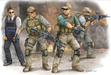 Trumpeter Military Models 1/35 PMC VIP Protection Team in Iraq Figure Set (4) Kit