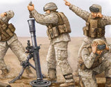 Trumpeter Military Models 1/35 Modern US Marine M252 Team Figure Set (4) Kit