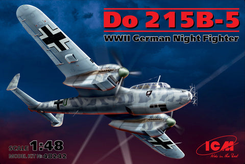 ICM Aircraft 1/48 WWII German Do215B5 Night Fighter Kit