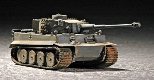 Trumpeter Military Models 1/72 German Tiger I Tank Early Version Kit