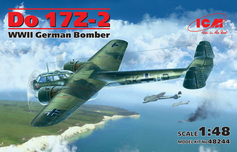ICM Aircraft 1/48 WWII German Do17Z2 Bomber Kit