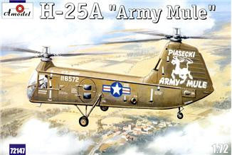 A Model From Russia 1/72 H25A Army Mule USAAF Helicopter Kit
