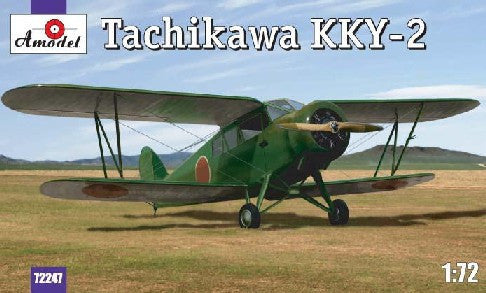 A Model From Russia 1/72 Tachikawa KKY2 Japanese Army BiPlane Kit