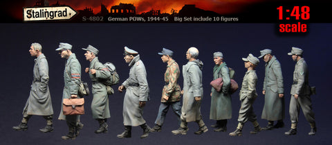 Stalingrad 1/48 German POWs, 1944 - 1945