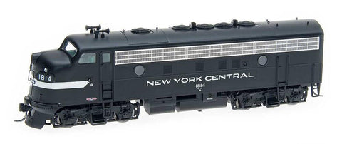 InterMountain Railway HO Assembled EMD F7A Locomotive  - New York Central - Cigar Band