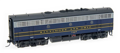 InterMountain Railway HO Assembled EMD F7B Locomotive w/Sound - Baltimore & Ohio