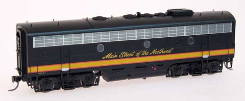 InterMountain Railway HO Assembled EMD F7B Locomotive w/Sound - Northern Pacific