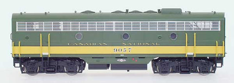 InterMountain Railway HO Assembled EMD F7B Locomotive w/Sound - Canadian National - Green