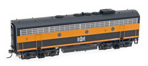 InterMountain Railway HO Assembled EMD F7B Locomotive w/Sound - Bessemer & Lake Erie