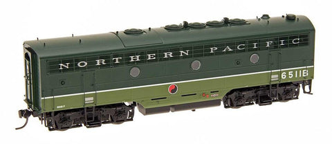 InterMountain Railway HO Assembled F7B Locomotive w/Sound - NP Loewy - BN Patch