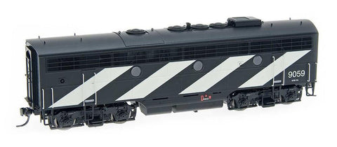 InterMountain Railway HO Assembled EMD F7B  Locomotive w/Sound - Canadian National - Stripe Scheme
