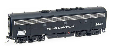 InterMountain Railway HO Assembled F7B Unit Locomotive w/Sound  - Penn Central