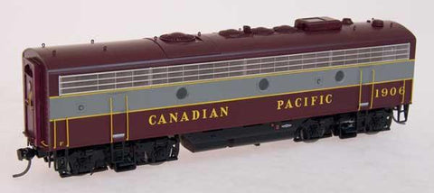 InterMountain Railway HO Assembled F9B Locomotive w/Sound ..Canadian Pacific - Block