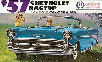 Lindberg Model Cars 1/32 1957 Chevrolet Ragtop Kit