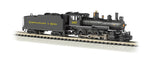 Bachmann N 4-6-0 w/DCC, Chesapeake & Ohio® #387 (Black & Yellow)