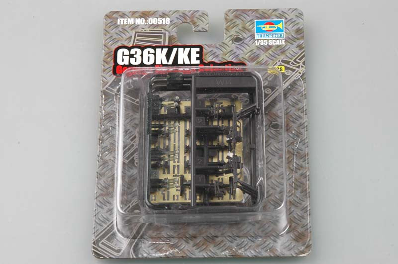 Trumpeter Military Models 1/35 G36K/KE German Assault Rifles (4) Kit