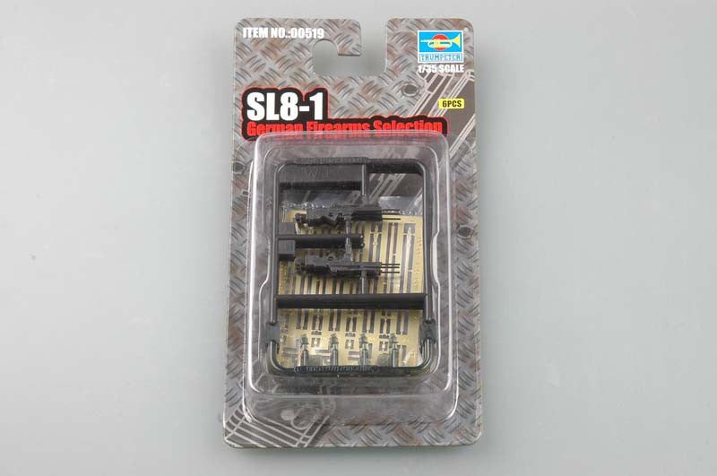 Trumpeter Military Models 1/35 SL8-1 German Rifles (6) Kit