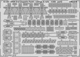 Eduard Details 1/350 Ship- DKM Graf Zeppelin Railings & Nets Pt.4 for Trumpeter Kit