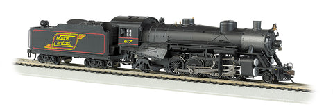 Bachmann HO 2-8-2 Light w/DCC & Sound Value, Maine Central #617