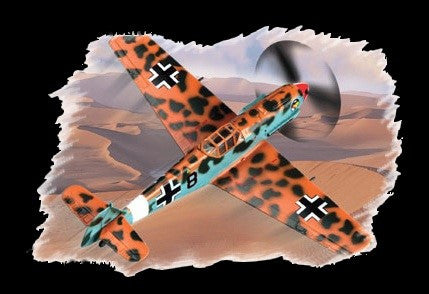 Hobby Boss Aircraft 1/72 Bf-109E-4/7 Messerchmitt Kit