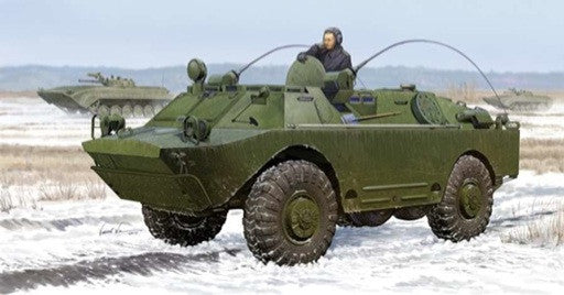 Trumpeter Military Models 1/35 Russian BRDM2UM Amphibious Command Vehicle Kit