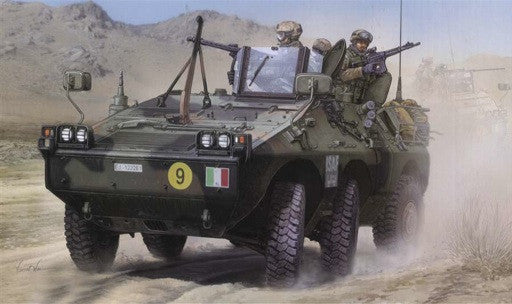 Trumpeter Military Models 1/35 Italian PUMA 6x6 Armored Fighting Vehicle Kit