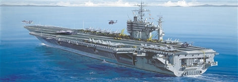 Italeri Model Ships 1/720 USS Roosevelt Aircraft Carrier Kit