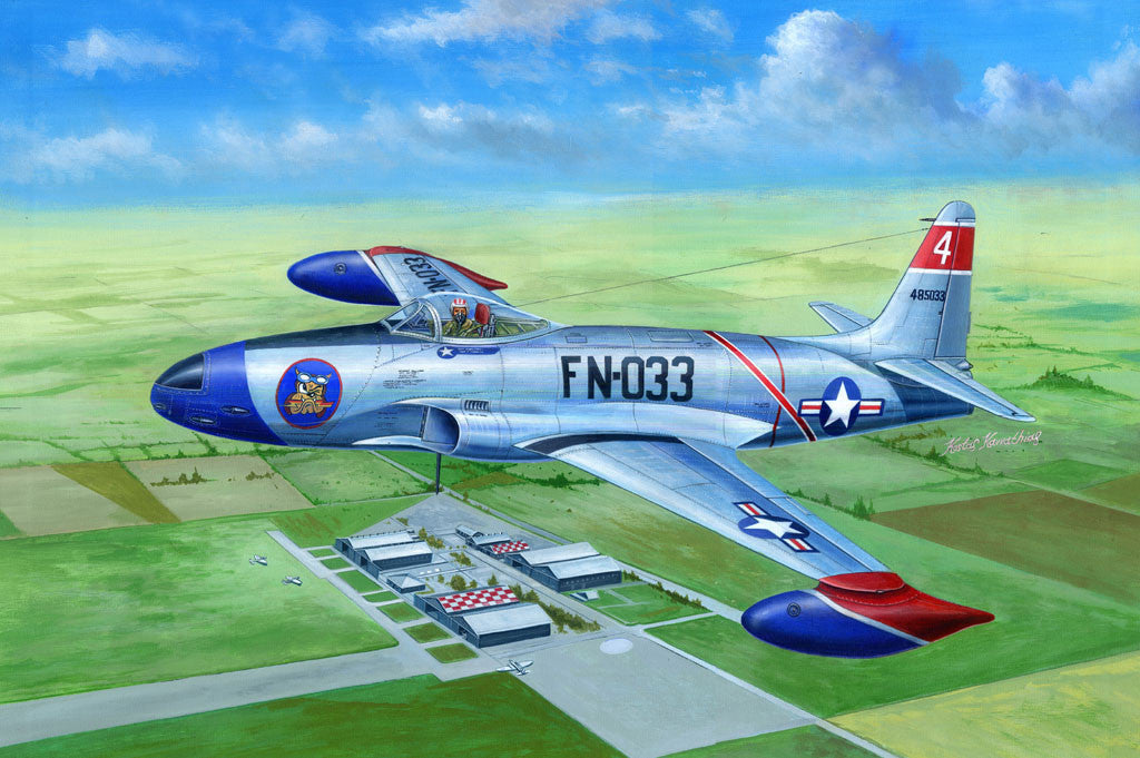 Hobby Boss Aircraft 1/48 F-80A Shooting Star Kit